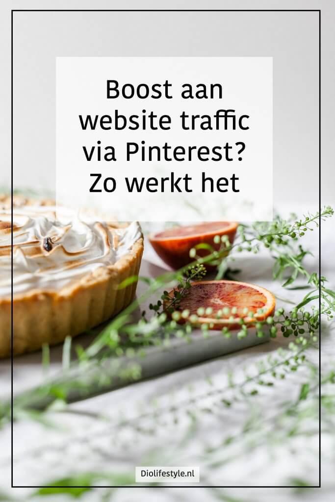Boost aan website traffic via Pinterest? Zo werkt het