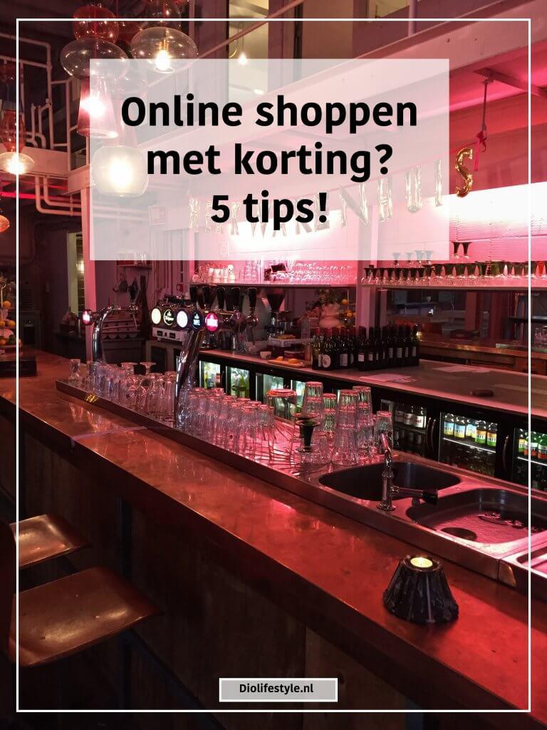 Online shoppen met korting? 5 tips!